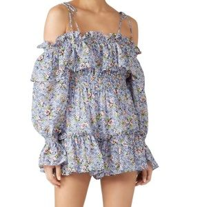 Alice McCall Floral Lady Romper Playsuit Size 6